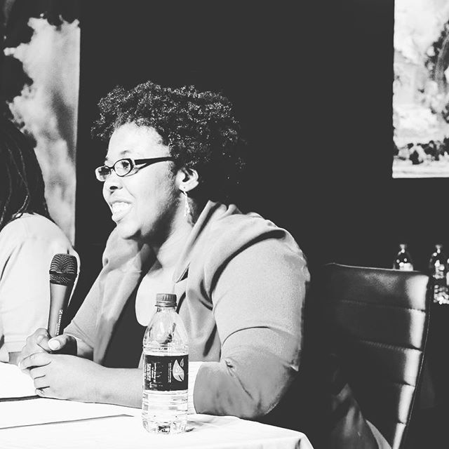 🖤🖤🖤 We love having panel discussions here in the hall! If you are interested in hosting one of your own, shoot us a message and let's chat about it! 🖤🖤🖤 . . . Photo shot by: Omotola Ajibade (@mythicvoice) . . . Come follow us! We post quotes, behind the scenes photos, and local artwork daily! 😊 . . . 👉 @ampersandguild 👈 . . . 👉 http://www.ampersandguild.com 👈