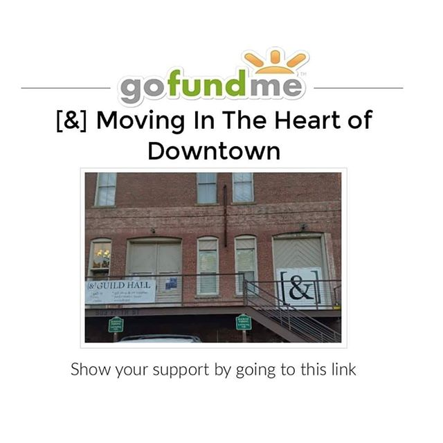 Are you excited for the new Ampersand Guild location, but not sure how you can participate??? 🤔🤔 Check out our new gofundme fundraiser to support the Guild!  #newampersand #supportthearts #maconarts #helpwanted #moving #support #donation #art #artstudio  https://www.gofundme.com/ampersandguild