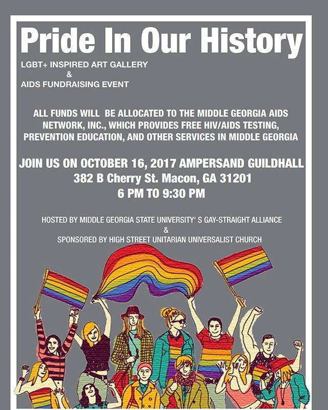 Come join MGA's Gay-Straight  Alliance in Pride in Our History! View LGBT inspired art and part take in the week long fundraising events. ---- #artgallery #artinfo #artist #artnews #artshow #artworker #gaypride #color #colour #creative #drawing #drawings #fineart #rainbow #week #art #artist #artistsoninstagram #mural #myart #paint #painting #paintings #pencil #photo #inspiration #creative #instagram #instart #abstractart
