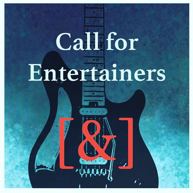 We're looking for entertainers for upcoming events!  For information contact us at Ampersandguild@gmail.com.