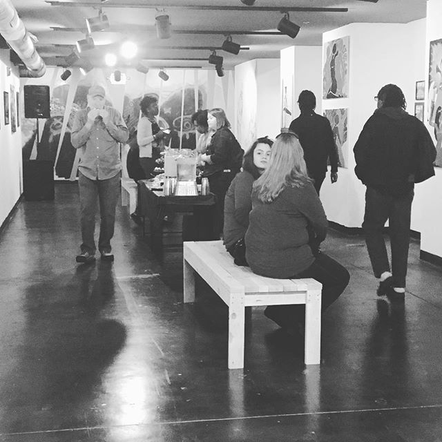 We're officially open!!! Come check out the new space! #maconarts #newbeginnings2018 #celebrate