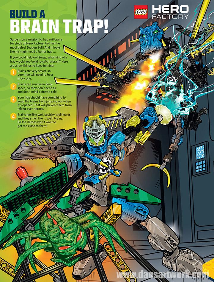 Lego Club Magazine Comic Art — The Art of Dan Veesenmeyer