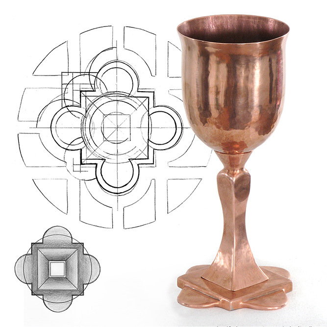 CASE STUDY - Liturgical Vessels: a step-by-step description of this commissionClick Image