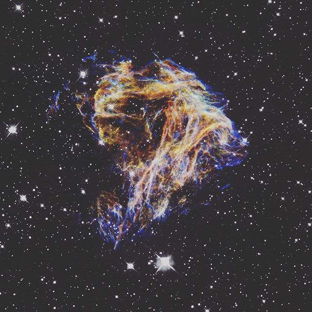 N 49 - remnant from a supernova blast.  The light from this star death would have reached Earth a thousand years ago. 👌