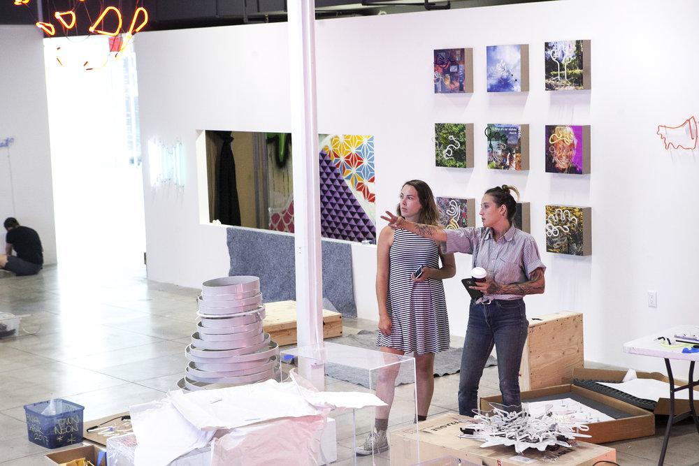 Kacie Lees and Meryl Pataky