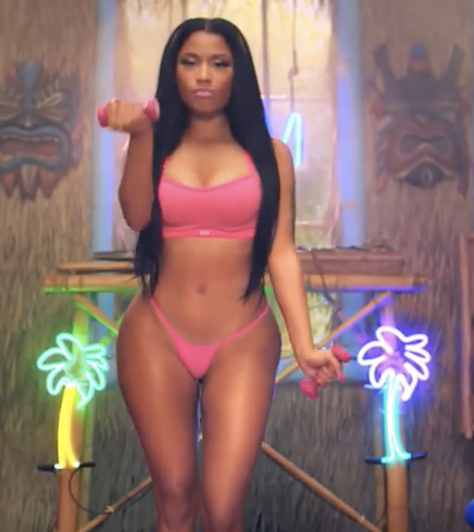 Nicki Minaj rip off 2014 (made in China obviously)