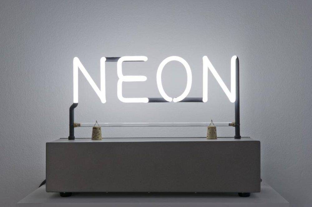 Neon Art: Joseph Kosuth