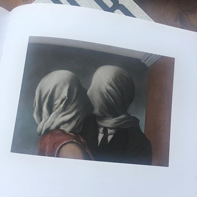 Les Amants (The Lovers), René Magritte, 1928