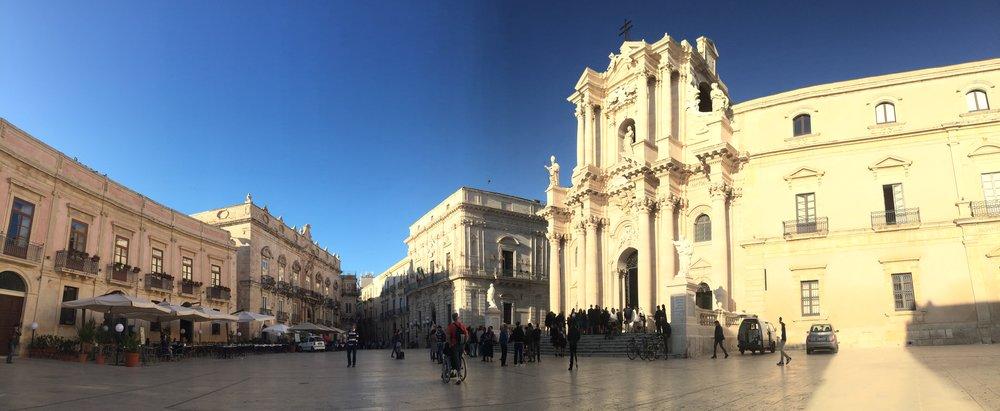 Piazza Duomo, Ortigia, Siracusa