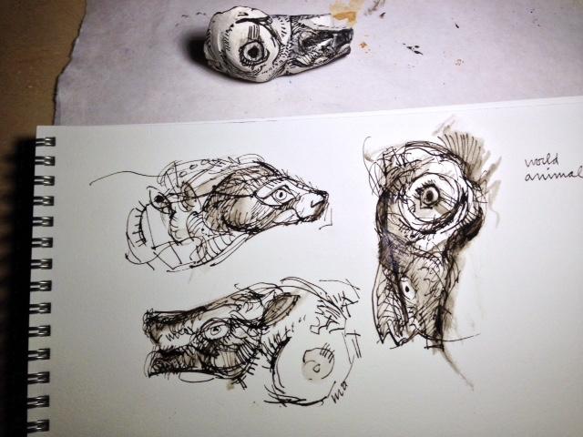 Small drawings nancy rebal for Small art drawings
