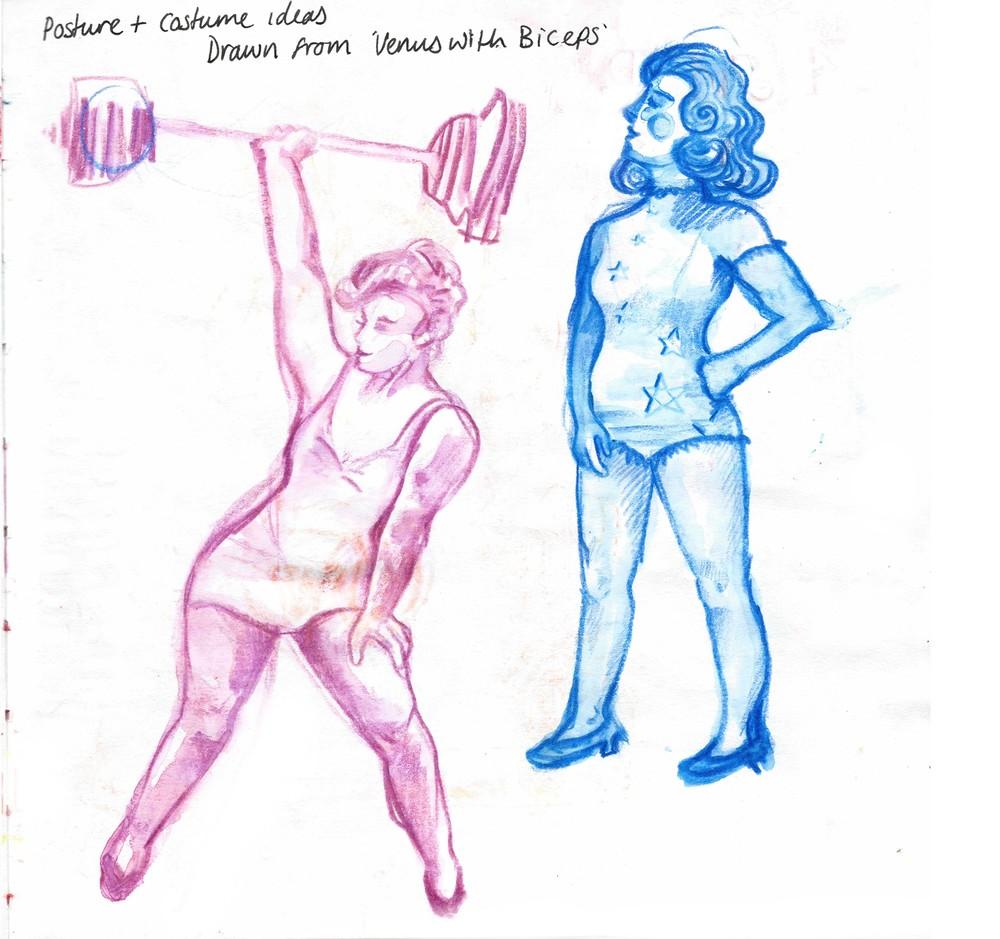 Studies of Muscular Women 3