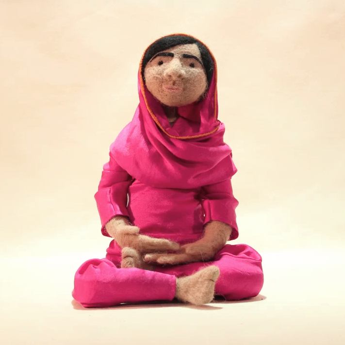 Malala - 1st university stop motion project