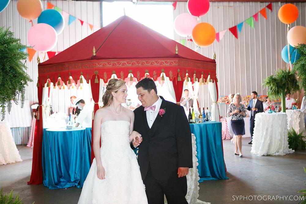 35 Princeton Airport Wedding Vintage Carnival Reception Grand Entrance Aribella Events.jpg