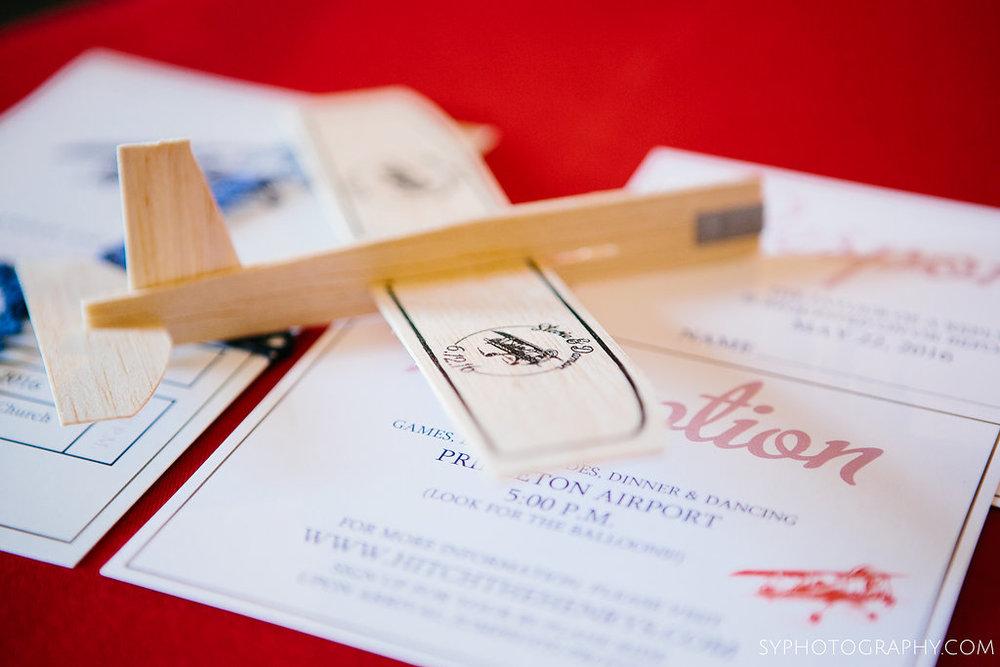 25 Philadelphia Wedding Planner Princeton Airport Wedding Invitation Escort Card.jpg