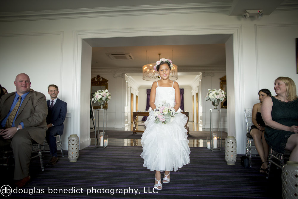 23 Philadelphia Wedding Downtown Club Flower Girl Philadelphia Destination Wedding.jpg