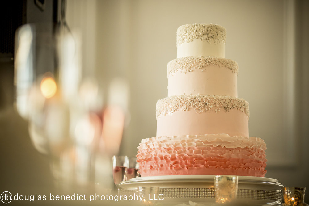 30 Ombre Ruffled Wedding Cake Philadelphia Destination Wedding.jpg