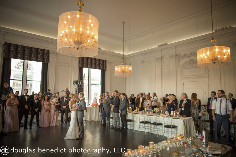 31 Philadelphia Wedding Downtown Club Destination Wedding First Dance.jpg