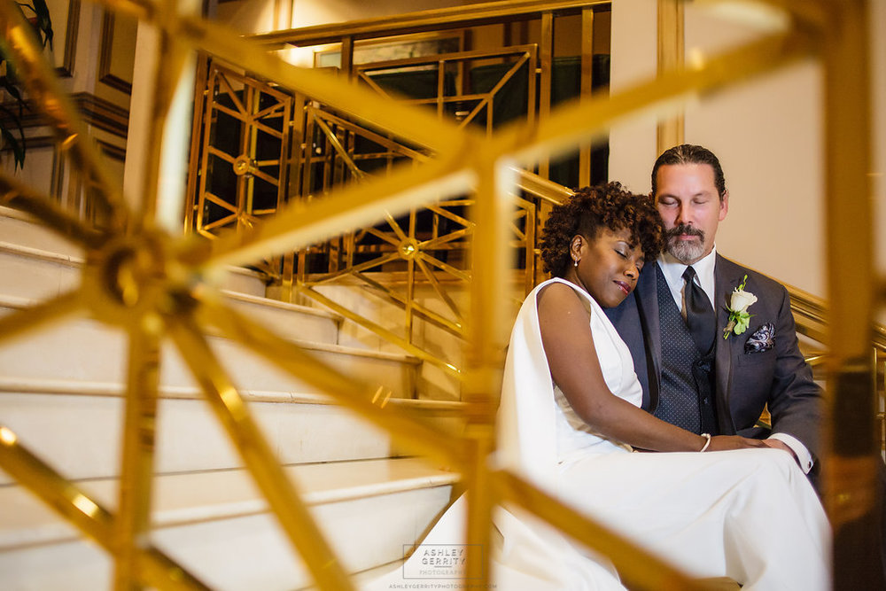 22 Philadelphia Wedding Rittenhouse Hotel Intimate Weddings Bride Groom Portrait.jpg