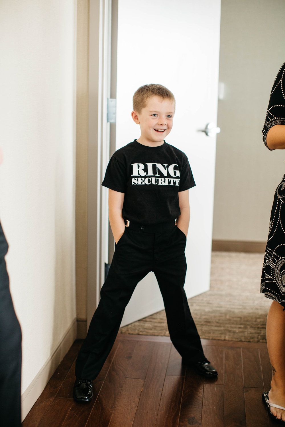 07 New Years Eve Wedding Ring Bearer Ring Security Aribella Events.jpg