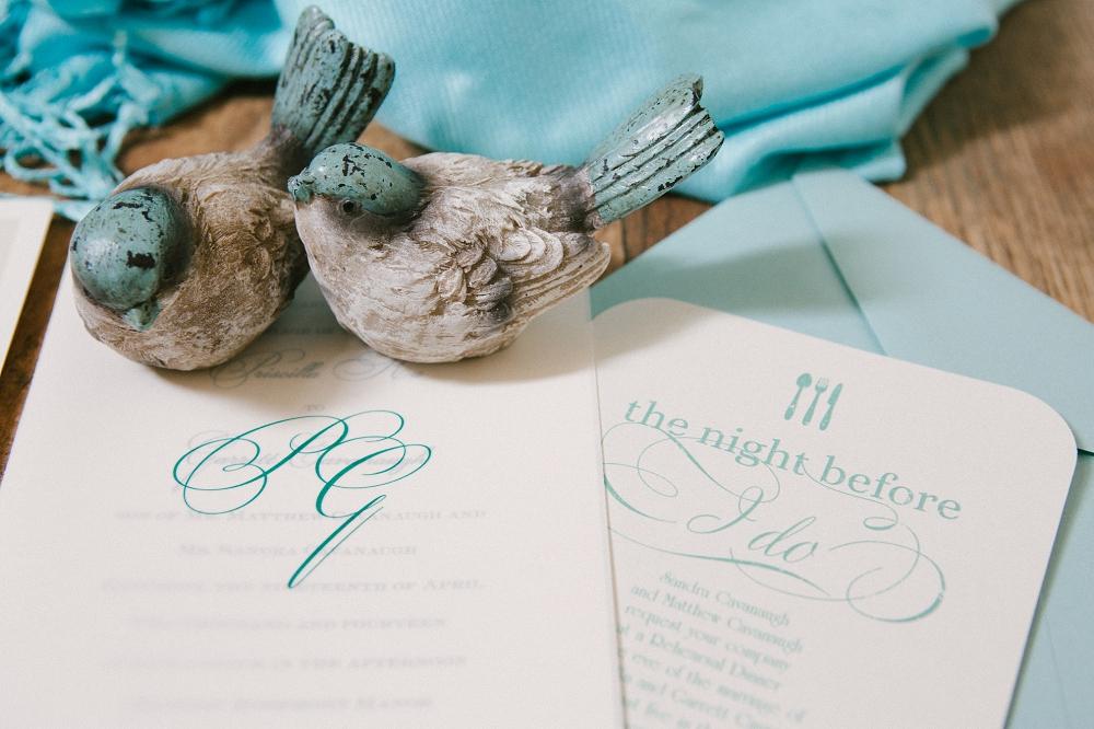 11 Aribella Events Lovebirds Mint Wedding Stationery Destination Wedding Historic Rosemont Manor.JPG