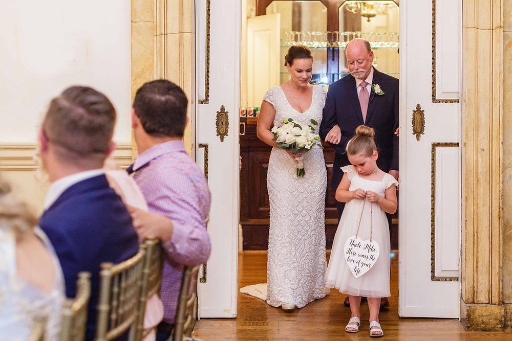 23 Stotesbury Mansion Philadelphia Wedding Reluctant Flower Girl.jpg