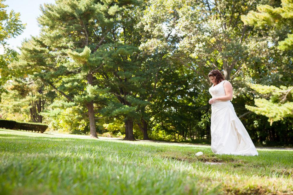 06 Philadelphia Wedding Bride Visiting Mothers Grave.jpg