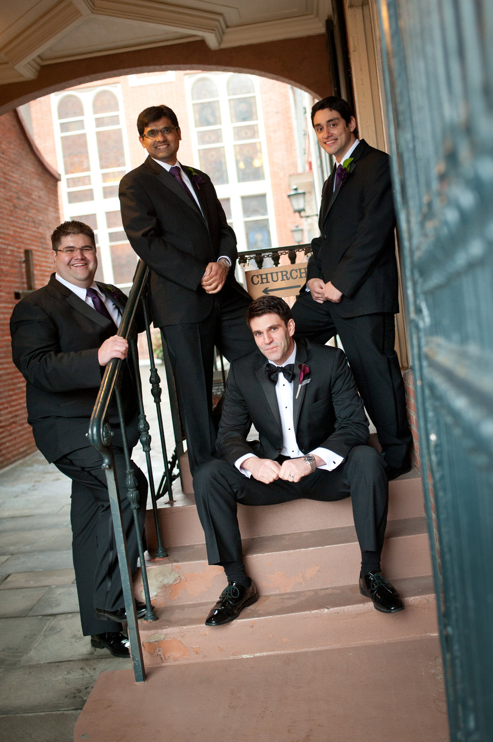 24 Winter Wedding Philadelphia Groomsmen.JPG