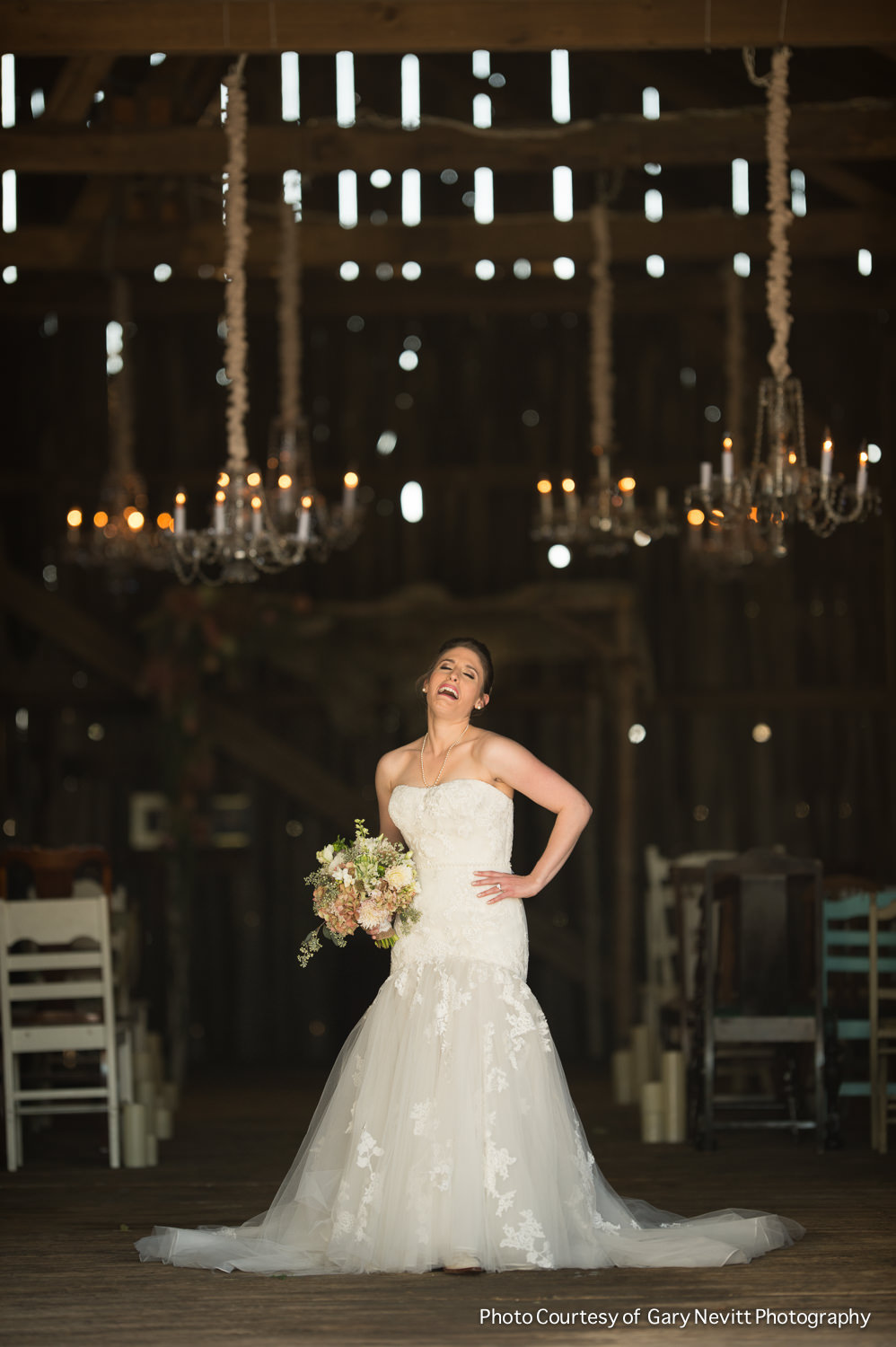 88 Barn Wedding Chandeliers Mismatched Chairs Custom Birch Chuppah.jpg
