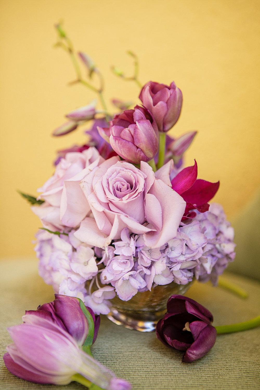 17 Ombre Hydrangea Tulip Rose Centerpiece Philadelphia Wedding Florist.jpg