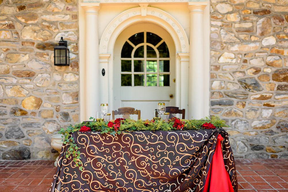29 Spanish Rose Wedding Bolingbroke Mansion Aribella Events Red Black Gold.jpg