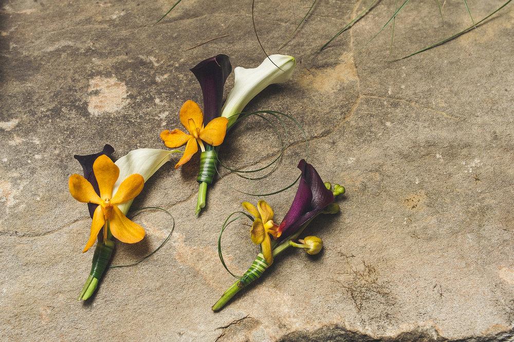 14 Orange Orchid Purple Calla White Calla Lily Boutonniere.jpg