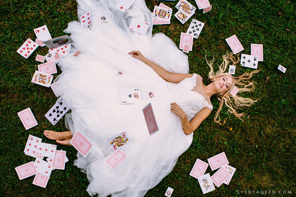 01 Alice in Wonderland Wedding Inspiration Playing Cards Rabbit Hole Aribella Events.JPG