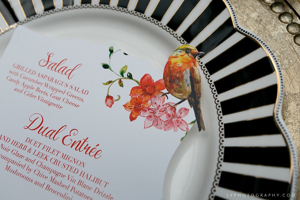 11 Spring Wedding Design PAFA Philadelphia Florist Acrylic Menu.jpg