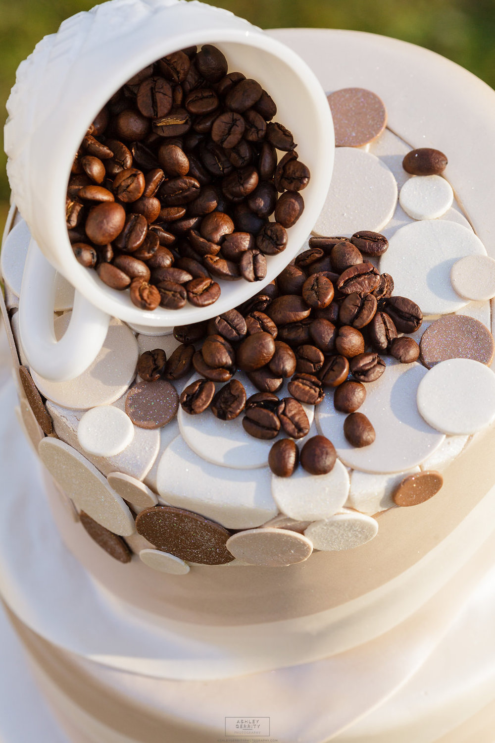27 Coffee Themed Wedding Cake Gilmore Girls Wedding Inspiration.jpg