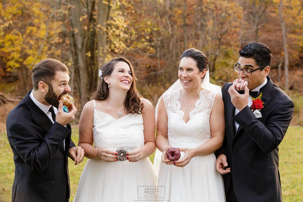 28 Gilmore Girls Wedding Inspiration Wedding Donuts (1).jpg