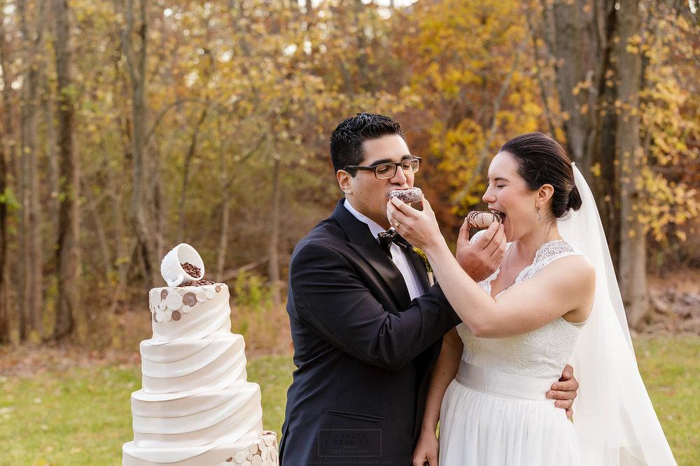 29 Gilmore Girls Wedding Inspiration Wedding Donuts.jpg
