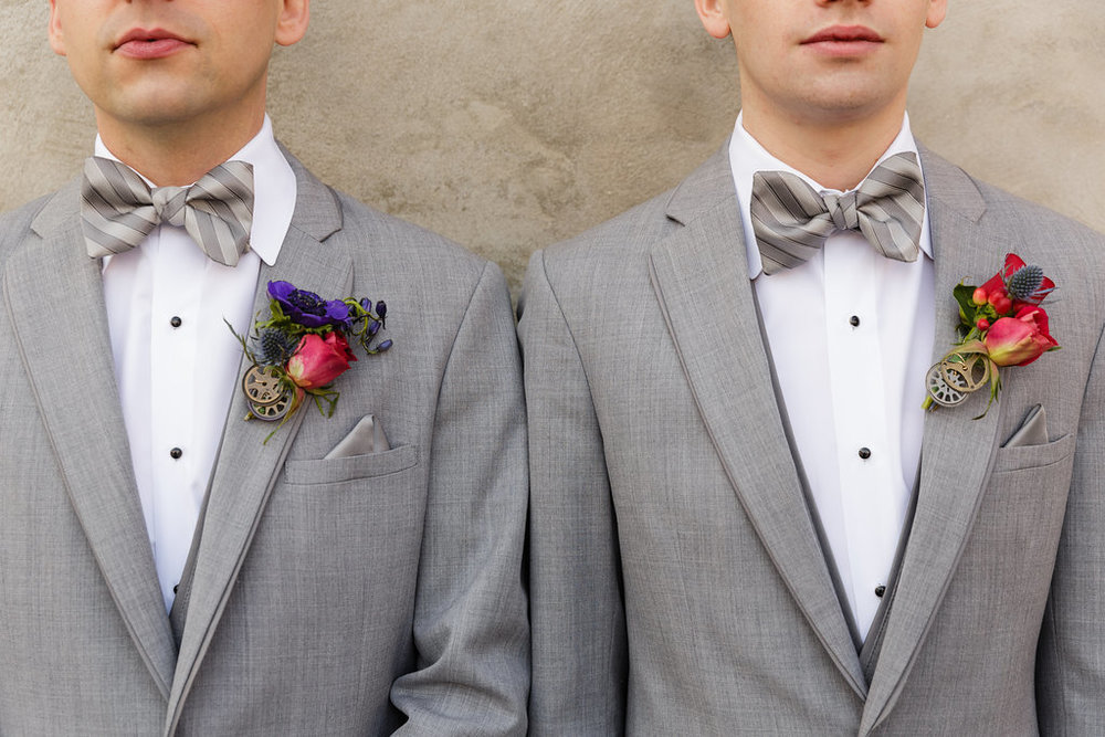 01 Front and Palmer Industrial Glamour LBGT Wedding Grey Tux Steampunk Wedding.jpg