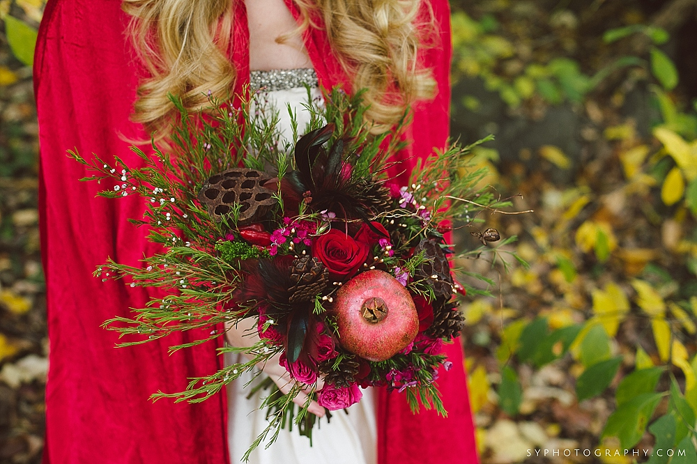 17 Little Red Riding Hood Woodland Bouquet Branches Pinecones Philadelphia Wedding Florist.jpg