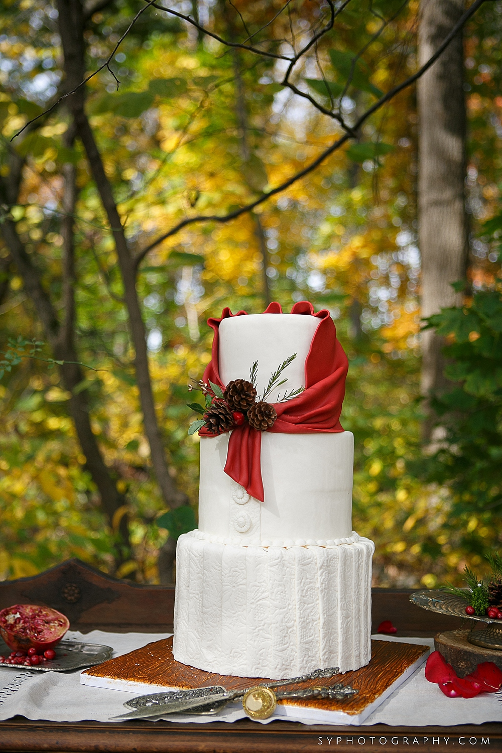 20 Philadelphia Wedding Florist Desserts by Dana Aribella Events Little Red Riding Hood Cake Inspiration.jpg