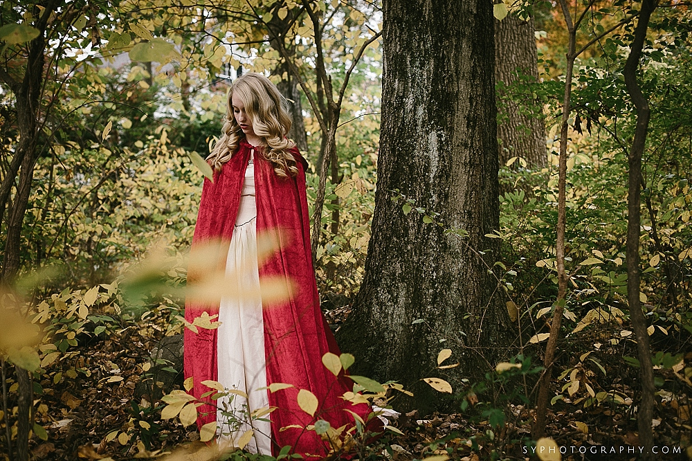 04 Little Red Riding Hood Woodland Wedding Woodsy Wedding.jpg