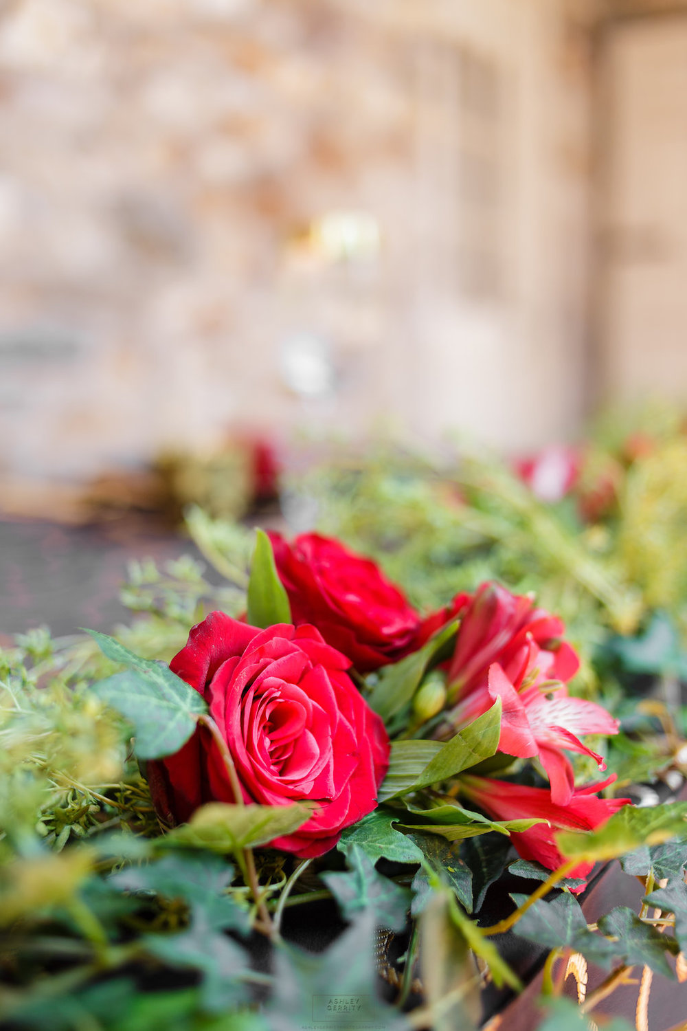 17 Spanish Rose Wedding Black Gold Red Rose Greenery Sweetheart Table Bolingbroke Mansion.jpg