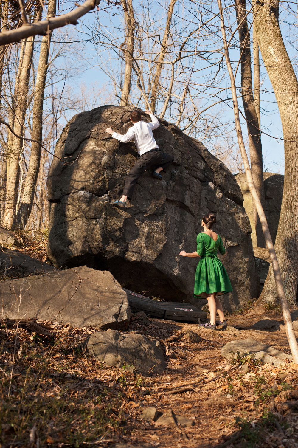 20 Rock Climbing Engagement Mad Men Style Philadelphia Event Planner.jpg