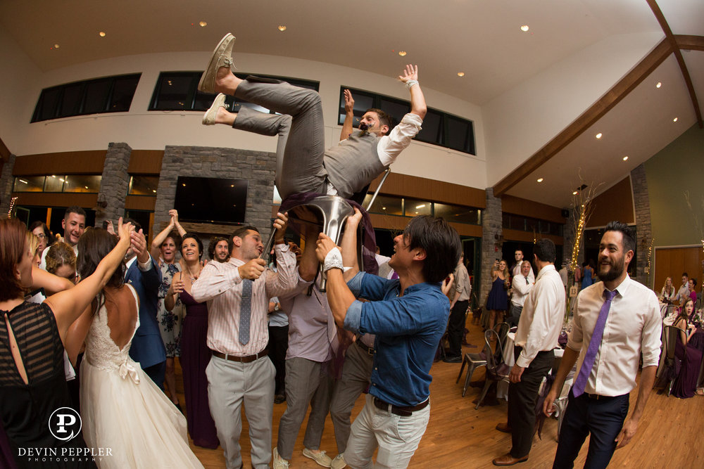 23 Chair Dance Groom Trout Lake Wedding Reception.jpg