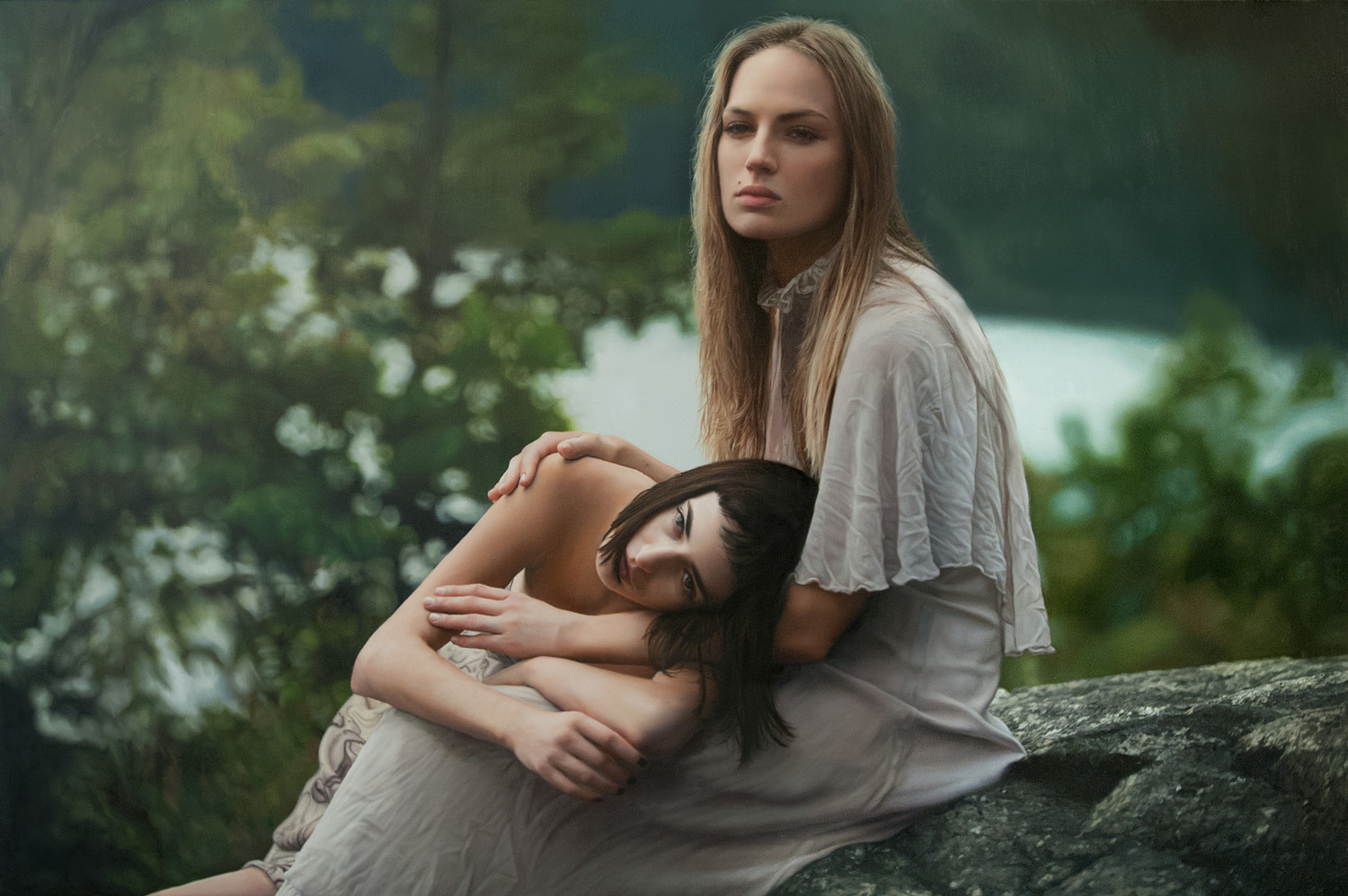 Yigal Ozeri |Hyper Realistic Paintings