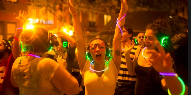 BIRTHDAY PARTIES - No one will forget that party where they were dancing to glowing headphones where they chose the sounds they were grooving to.