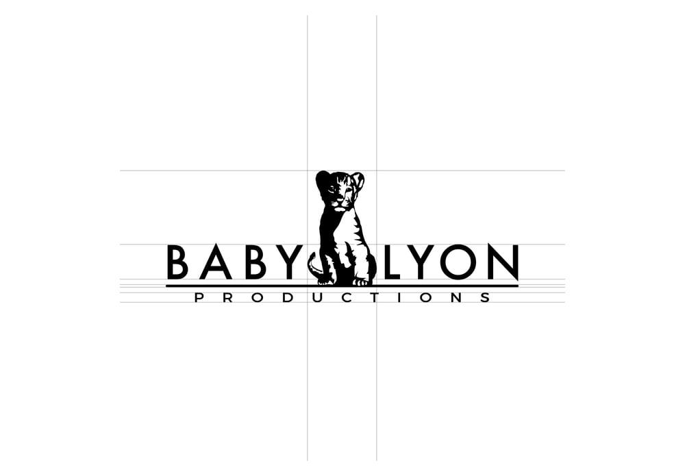 Baby Lyon logo design.