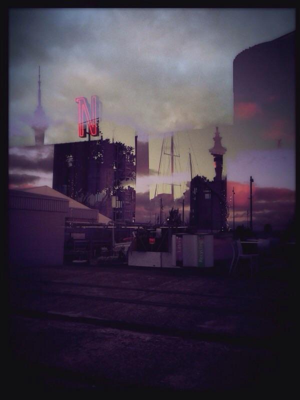 Neon Dawn I, Wynyard Quarter, Auckland