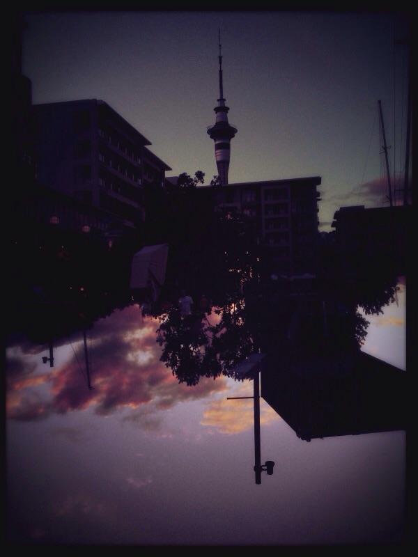 Dawn Flood, Wynyard Quarter, Auckland