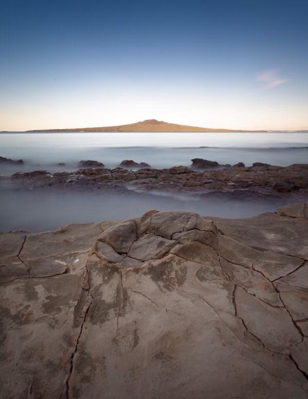 Last Sun, Rangitoto Island, New Zealand