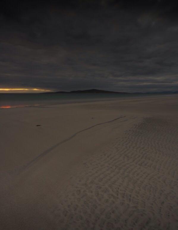 Fading Light, Outer Hebrides, Scotland